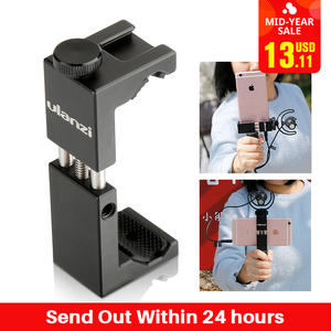 Ulanzi Aluminium Mobile Phone Tripod Mount Clamp Holder with Shoe w Handle Rig Clipper