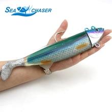 Высокое качество 26 см 440 г избыточный вес большой размер имитирующая рыба приманка глубокие рыболовные приманки для моря искусственная Мягкая приманка для рыбалки