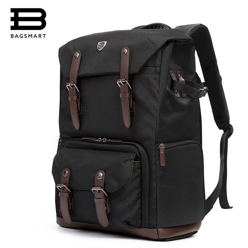 BAGSMART Камера Рюкзак для DSLR Водонепроницаемый Камера рюкзак с дождевик рюкзак для ноутбука Камера линзы Travel Камера сумки