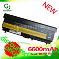 Golooloo 6600MAh battery For ThinkPad Edge E40 E50 L410 L412 L512 L420 L421 L510 L520 SL410 SL510  T410 T420 T510 T520 W510 W520