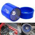 Top racing Universal Car Fuel Gas Saver Supercharger Para Fan Turbocompresor Turbina Turbo Cargador de Admisión de Aire de bajo consumo de Combustible, acces