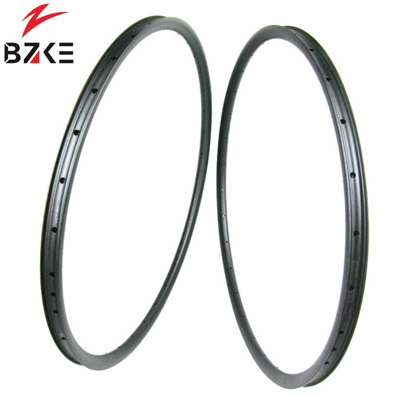 650B Super light MTB Rim Carbon Rim Mountain Bike 24mm width only 285g 27.5er