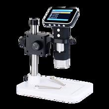 600X цифровой электронный микроскоп камера с ЖК-дисплеем 3,5 дюймов видео USB микроскоп увеличитель HD 200 Вт пикселей