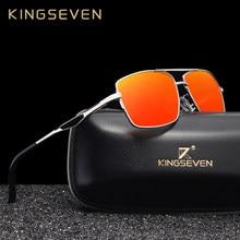 KINGSEVEN – lunettes de soleil polarisées de styliste pour hommes, carrées, de voyage, à la mode, 2019