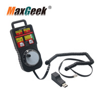 CNC MACH3 Wireless Electronic Handwheel 4 Axis Manual Controller USB Handle Pulse Generator