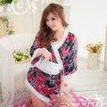 Сексуальное женское белье KTV рестораны японское кимоно сексуальное платье леди платье классическая кружева чонсам сексуальный прозрачный сексуальное женское белье