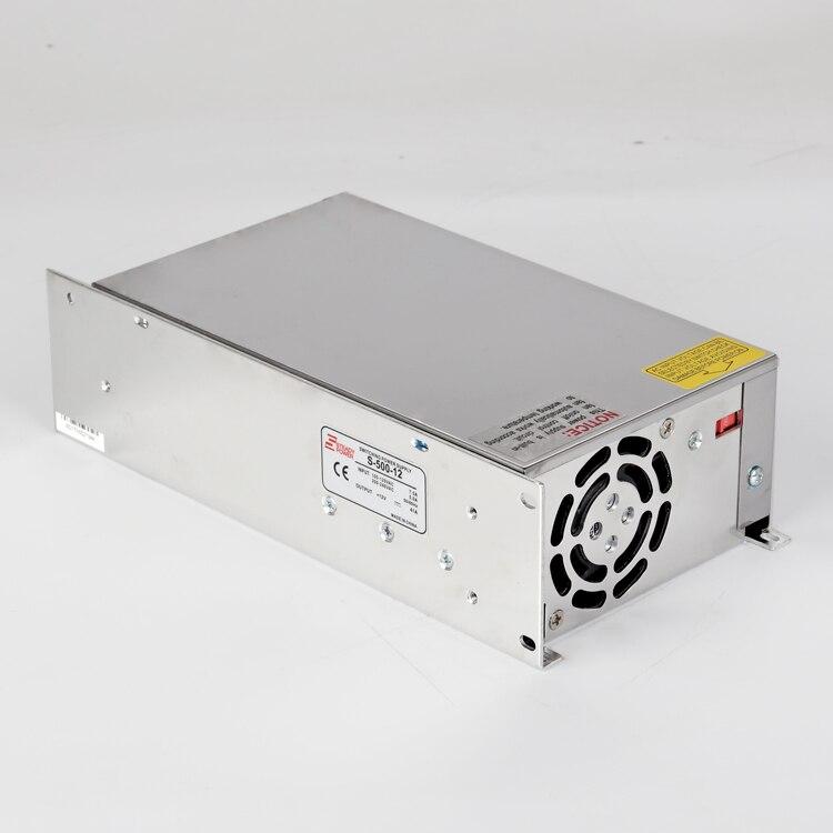 S-500w 12 v 40 ampères alimentation unique sortie 5 v 12 v 15 v 24 v 36 v 48 v 500 w 40a dc smps commutateur de courant LED - 5
