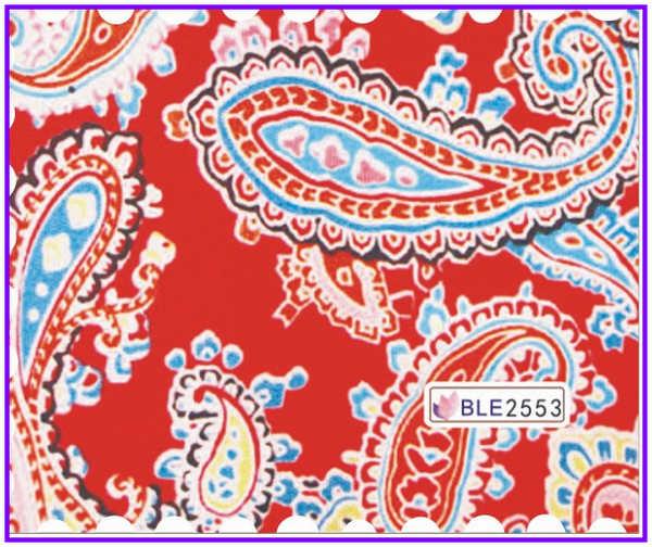 Arte de uñas belleza agua pegatina flor rueda ventilador encaje PAISLEY patrón hoja dragón escamas BLE2553-2570