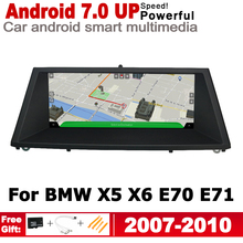 Android 7.0 up IPS car HD Screen player for BMW X5 X6 E70 E71 2007~2010 CCC original Style Autoradio gps navigation WiFi BT 10 25 touch android 7 1 car radio gps navigation for bmw x5 e70 2007 2013 bmw x6 e71 2007 2014 intelligence car multimedia