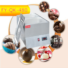 3PC FY-QK-480  Hot Sale Double-cylinder Electric Chocolate Fountain Fondue Hot Chocolate Melt Pot melter Machine