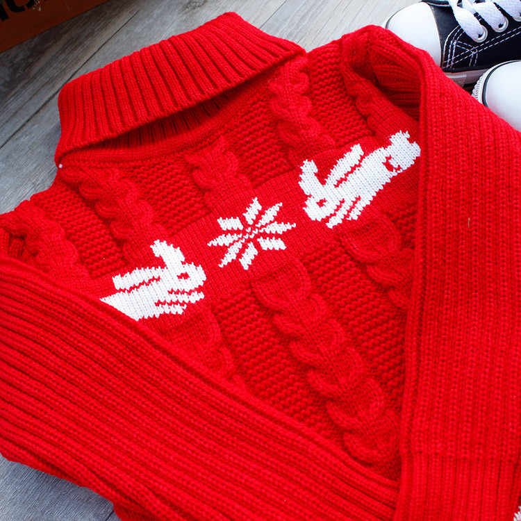 39bfd0271 Detail Feedback Questions about boys christmas sweater deer Red Girl ...