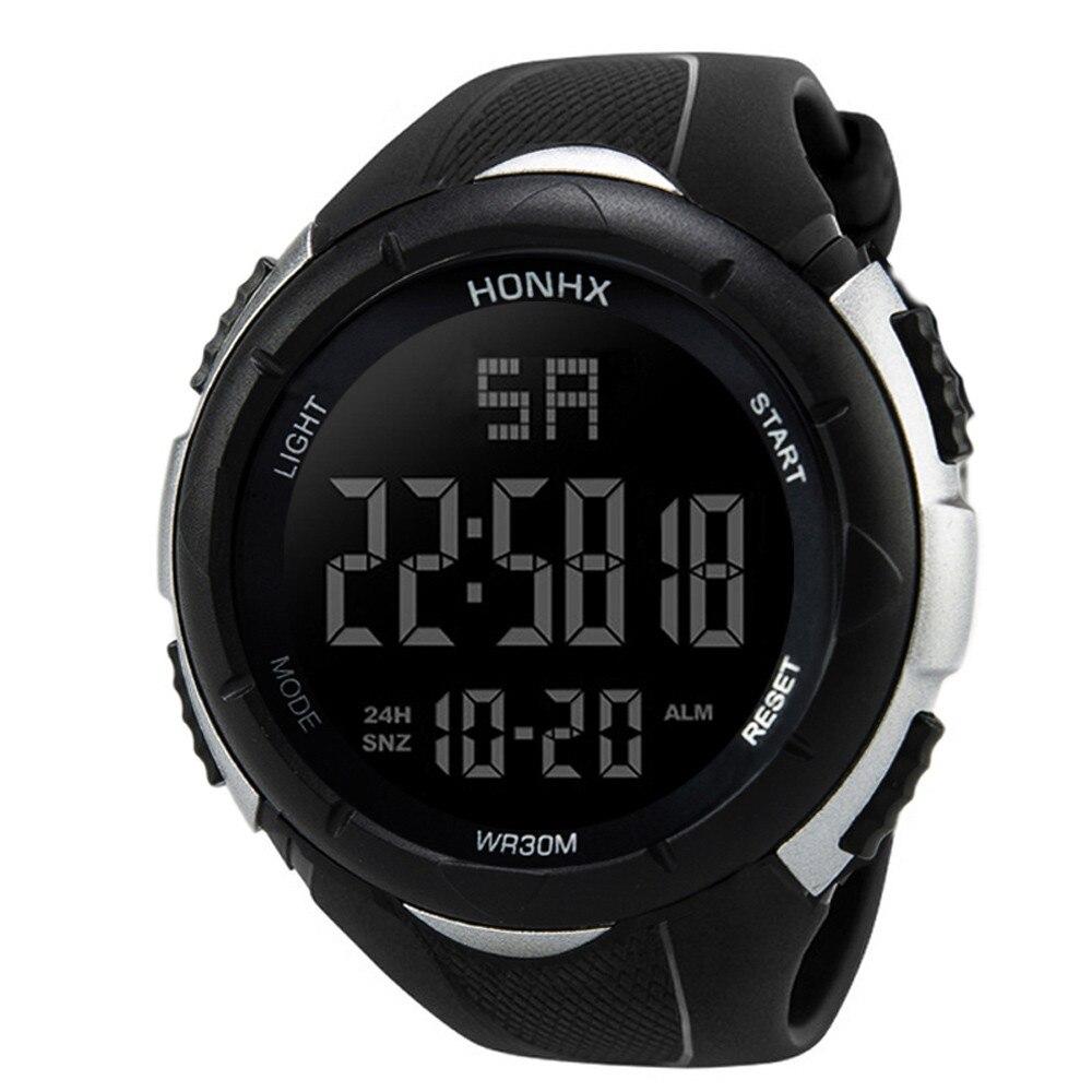 HTB1cMFtXOfrK1RjSspbq6A4pFXa8 NEW Relogio masculino Luxury Men Analog Digital watches Military Sport LED Waterproof Wrist Watch super quality clock gift @7