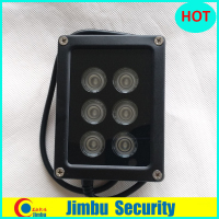 outdoor 6 LED IR Spotlight infrared Light high power Array IR light For ip camera fill light IP66