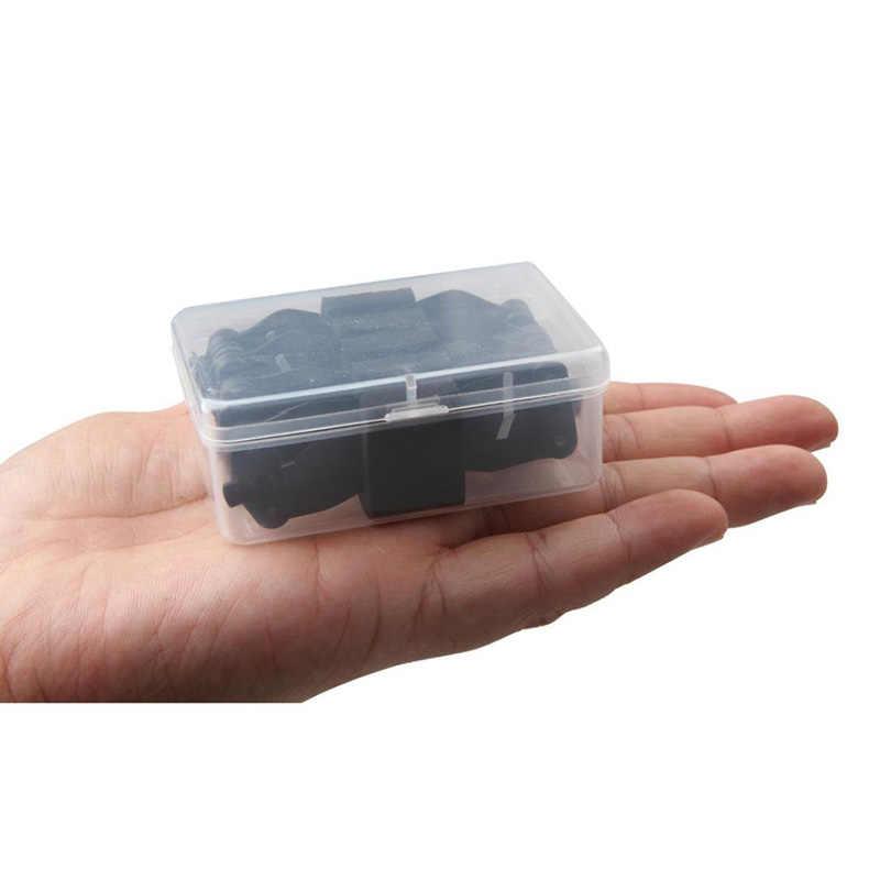 Étui de transport Portable + support de protection en mousse boîte de rangement en plastique Transparent pour hélices DJI Spark 4 paires 4730F