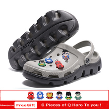 Alllwesome Croc Shoes Men Summer Sandals Lightweight Massage Camouflage Flip Flops Gladiator Clogs Crocsnessinglys 2019
