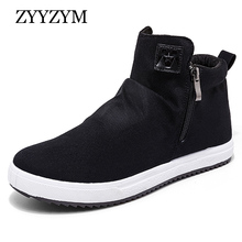 Men Canvas Shoes Spring Autumn New Arrival 2017 Hot Sale High Style Breathable Solid Fashion Sneakers Man Youth Casual Shoe