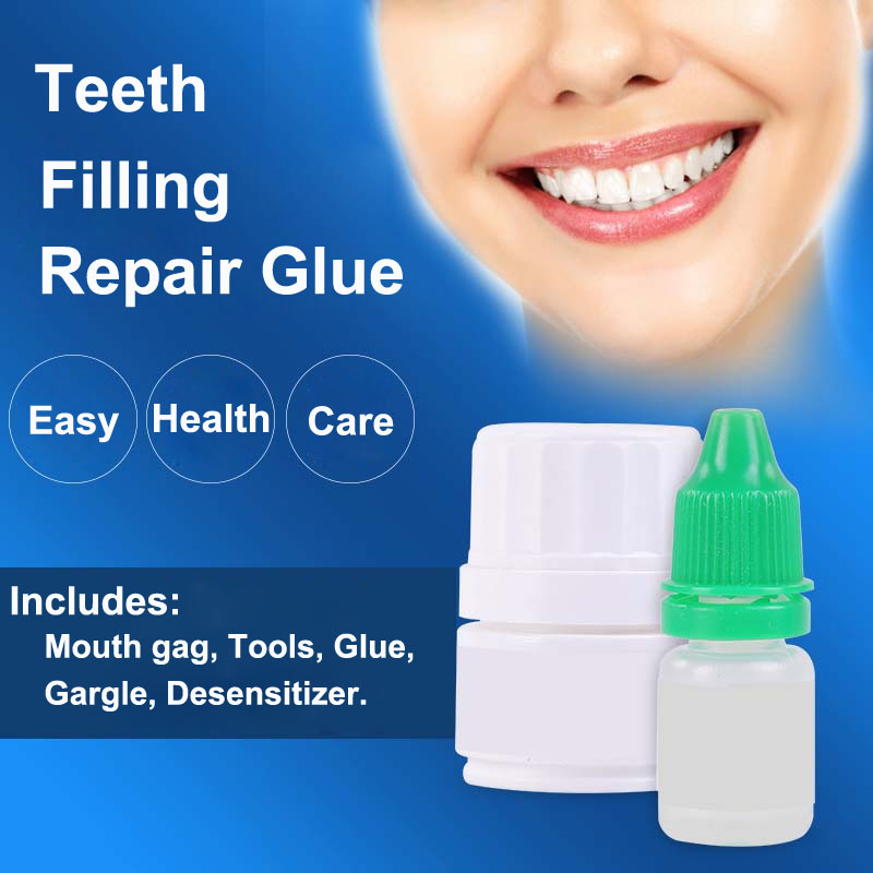 Tooth Glue Filling Liquid Teeth Cavity Dental Nurse Fix Kit Tool Accessory Seal Doctor Medical Adhesive Repair Strong Care Cure image