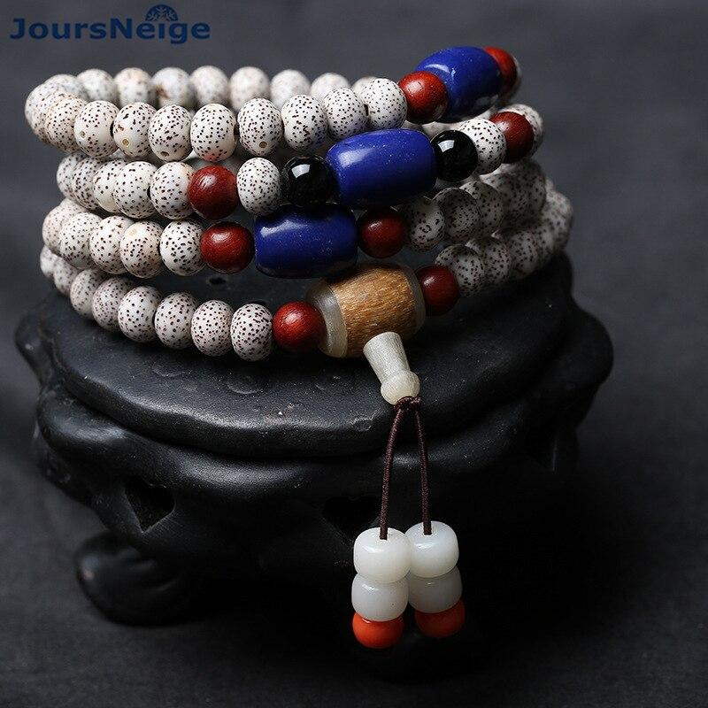 Wholesale Xingyue Natural Bodhi Bracelets 108 beads Unisex Buddhist Prayer & Yoga Meditation Beads Wrist Handmade Simple Jewelry