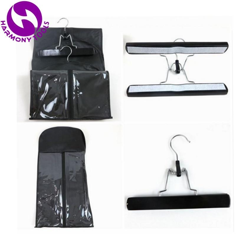 50 Sets Negro, Rosa o Blanco con cremallera paquete de suspensión, - Cuidado del cabello y estilo
