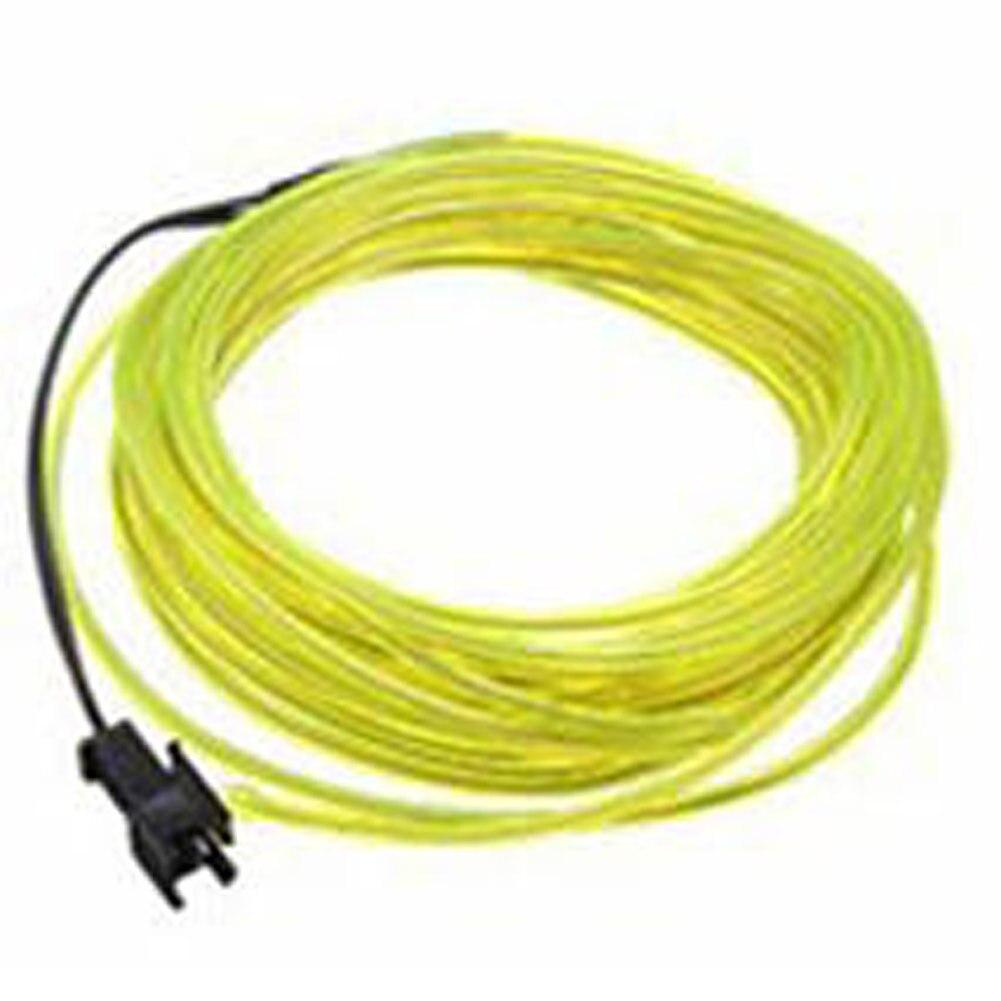 EL Draht neon licht Flexible Neonlicht glühen Seil band kabel ...