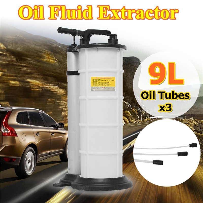 9L AutoCar extracteur de liquide d'huile de frein drainé outil de réparation de remplacement manuel pompe à huile ensemble pour voiture motos moteur