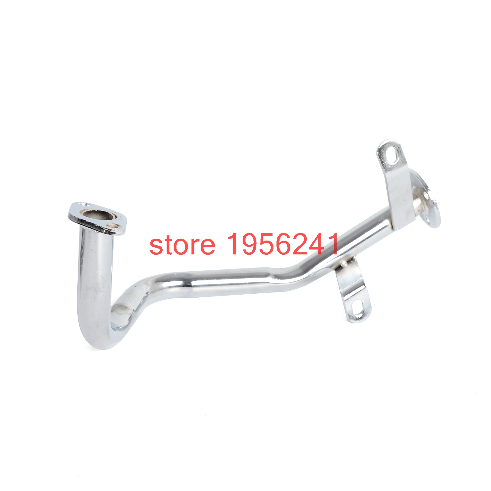 Nicecnc Blue Exhaust System Muffler Pipe for GY6 139QMB QMB139 1P39QMB 4 Stroke 50cc Chinese Scooters
