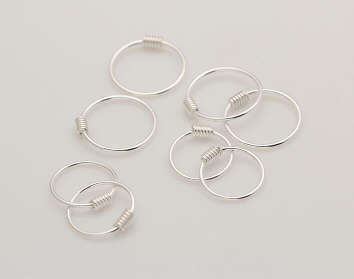 Minimalistische Oorbellen Zilver : Sterling zilver kleine oorringen voor vrouwen minimalistische