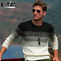 Free shipping fashion New casual male Military fashion Men's man casual sweater straight warm sweater simple gradient fanchen