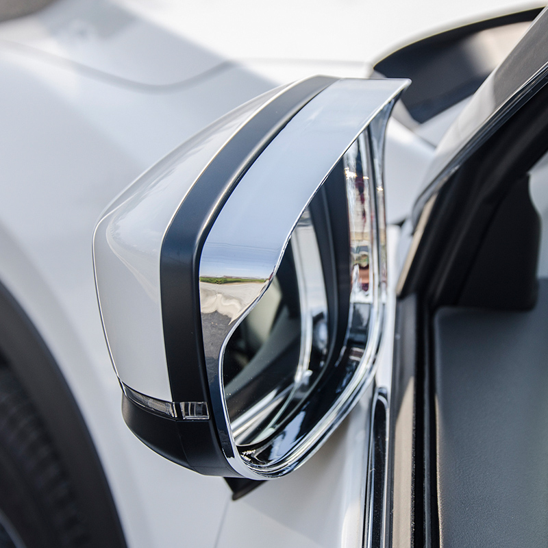 For <font><b>Mazda</b></font> CX-5 <font><b>Cx5</b></font> <font><b>2017</b></font> 2018-2020 ABS Chrome Car side door rearview mirror block rain eyebrow Cover Trim <font><b>accessories</b></font> car styling image