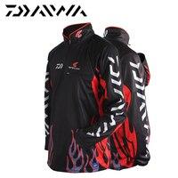 Daiwa Fishing Apparel Vests Fast Drying M L XL XXL XXXL Anti Uv Sun Fishing Shirt