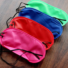 1 ชิ้น New Soft charmeuse silk Sleep Eye Mask Shade Cover ผ่อนคลาย Blindfold Shades Helper 8 สี 0.251(China)