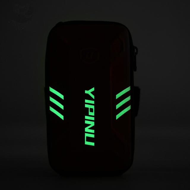 Waterproof Unisex Reflective Running Bag Phone Case Cover Sport Armband Wrist Bag Cycling Hiking Fitness Wristlet Pouch 6