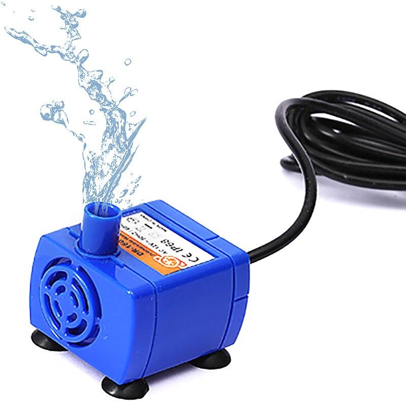 Mini Bomba de Bebedouro para animais de estimação Pet Casa Substituição da Bomba Da Fonte Fonte de água Potável Cão Tigela de Água Potável Dispenser