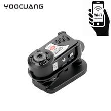 YOOCUANG Mini Wifi IP Q7 mini camcorder Digital miniature portable audio video camcorder mini camera video camera hd camera