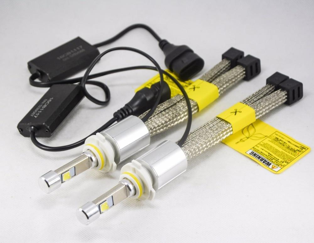 1 комплект P70 110W 13200LM 9005 HB3 / 9006 HB4 LED - Автомобилни светлини - Снимка 3