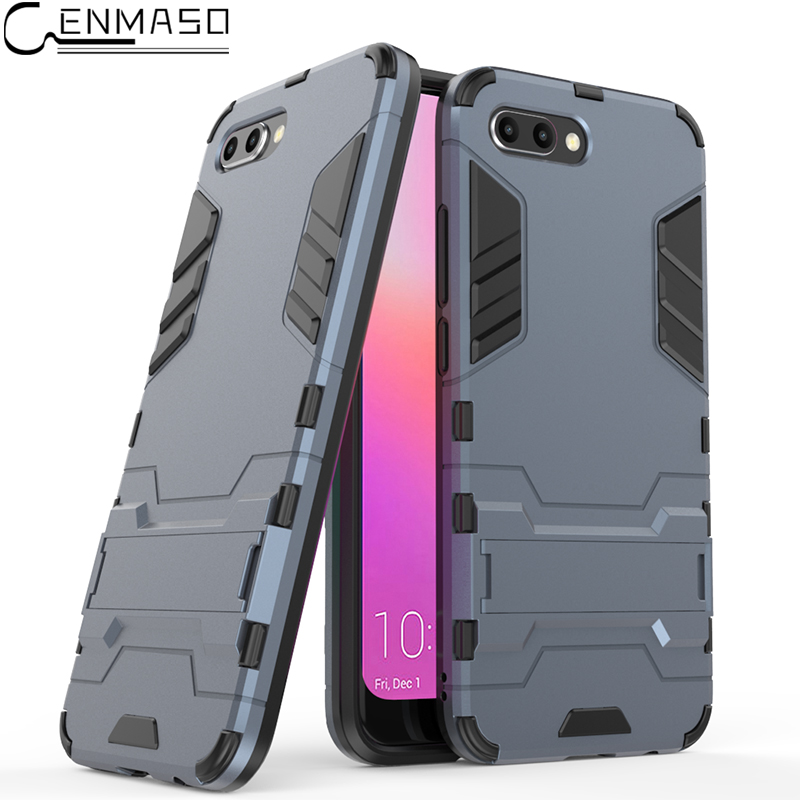 For Huawei Honor 10 Case Honor10 Cover Luxury Armor TPU + PC Shockproof Stand Back Capa  ...