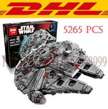 LEPIN 05033 5265Pcs Star Wars Ultimate Collector's Millennium Falcon Model Building Kits Blocks Bricks Children Toys Gift 10179