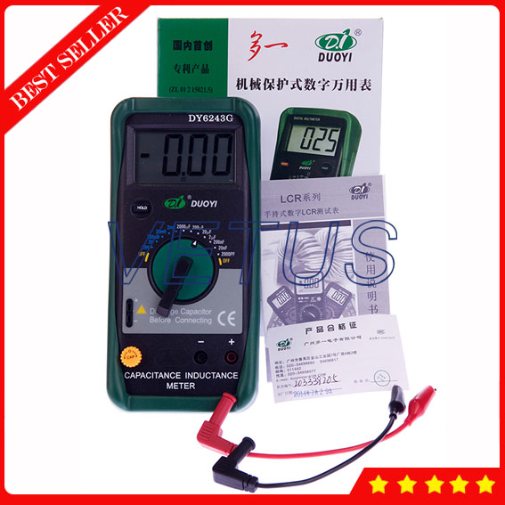 DY6243G China Digital LCR Meter digital lcr meter china lcr meter with led display