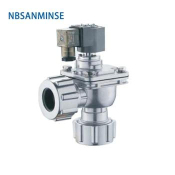 NBSANMINSE QG - Z - DD 35mm 50mm Replace GOYEN Clean Air Electromagnetic Pulse Jet Valve Diaphragm Valve Right Angle Type
