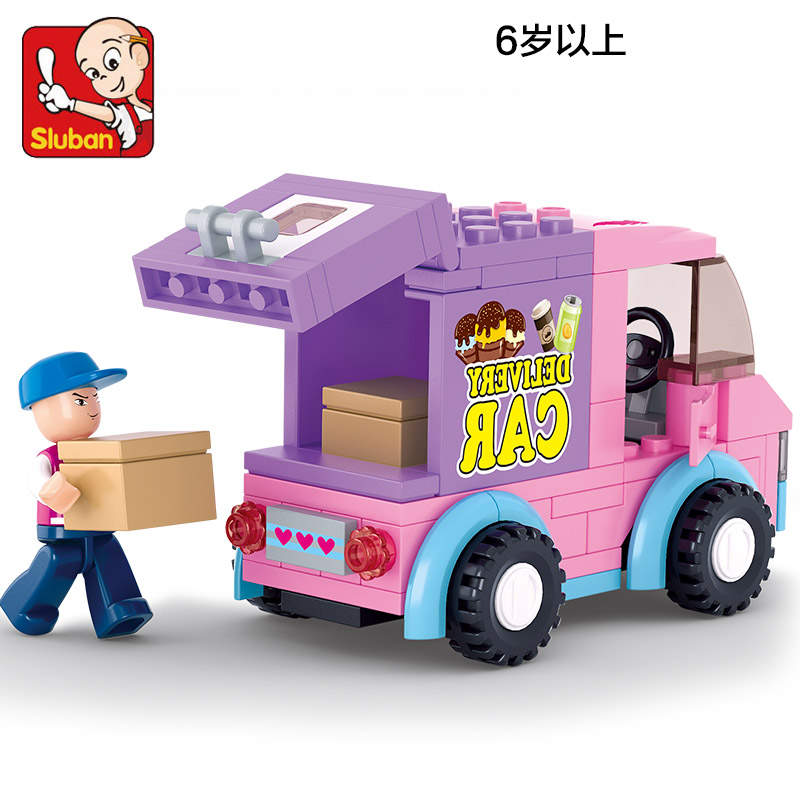 0520 102pcs Girl's Dream Constructor Model Kit Blocks Compatible LEGO Bricks Toys For Boys Girls Children Modeling