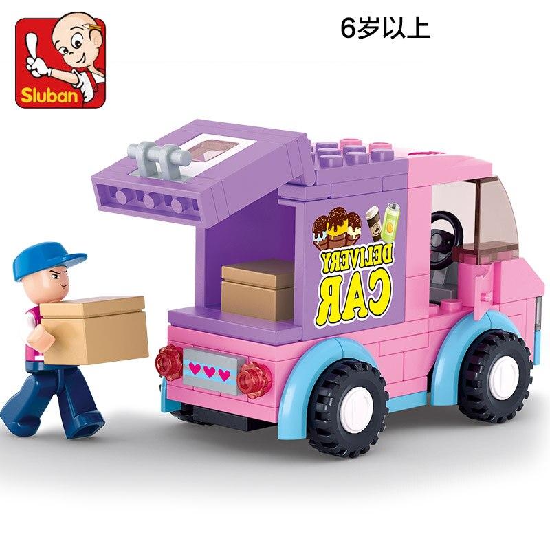 0520 102pcs Girl's Dream Constructor Model Kit Blocks Compatible LEGO Bricks Toys For Boys Girls Children Modeling