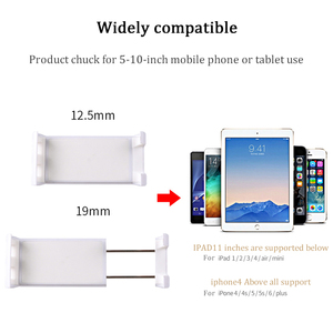 "Image 4 - 2 in 1 Wall Desk Kitchen Tablet Mount Stand Flodable Aluminum Alloy Desktop Lazy Holder Support For iPad Samsung 4 10.5"" Tablet"