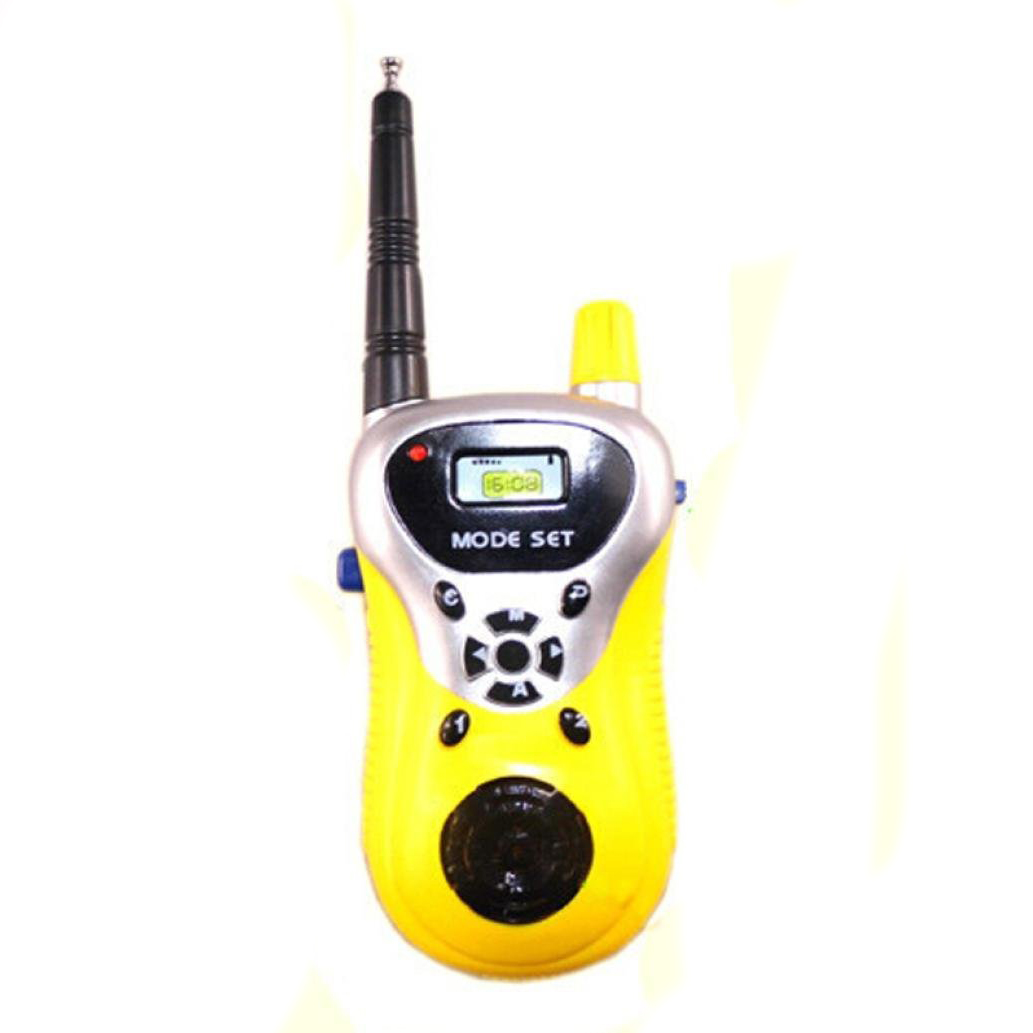 2Pcs Walkie Talkie for Children Electronic font b Toys b font Portable Two Way Radio Set