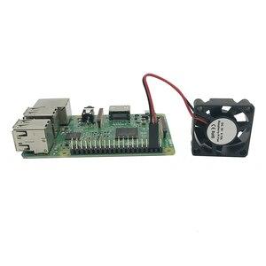 Image 5 - Bảo vệ Trường Hợp Nhà Ở Bìa Enclosure Box với Fan Hâm Mộ cho Raspberry Pi 2/3/3B +