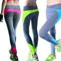 2017 Señora Leggings Para Mujeres de Cintura Alta de Ropa Femenina Pantalones Calientes Legging Fitness Culturismo Ropa
