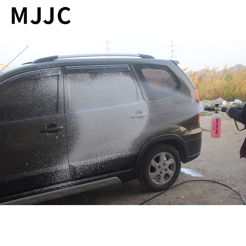 MJJC Brand Snow Foam Lance for Karcher HDS Pro Models, Karcher HD Model with m22 Female Thread Adapter with High Quality