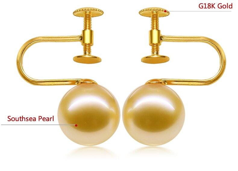 gold southsea pearls earrings jewelry 44