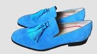 Мужская повседневная обувь коллекция 2019 года слипоны в классическом стиле с бахромой на плоской подошве; модная тренд