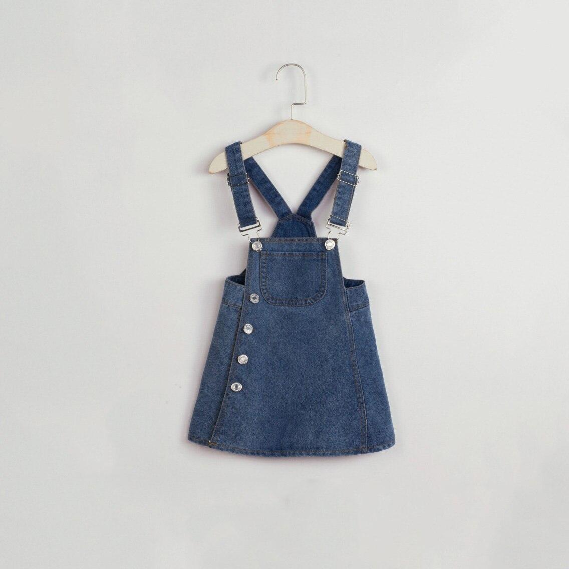 2017 Summer New Japanese Style Girl Strap Dress Baby -7542