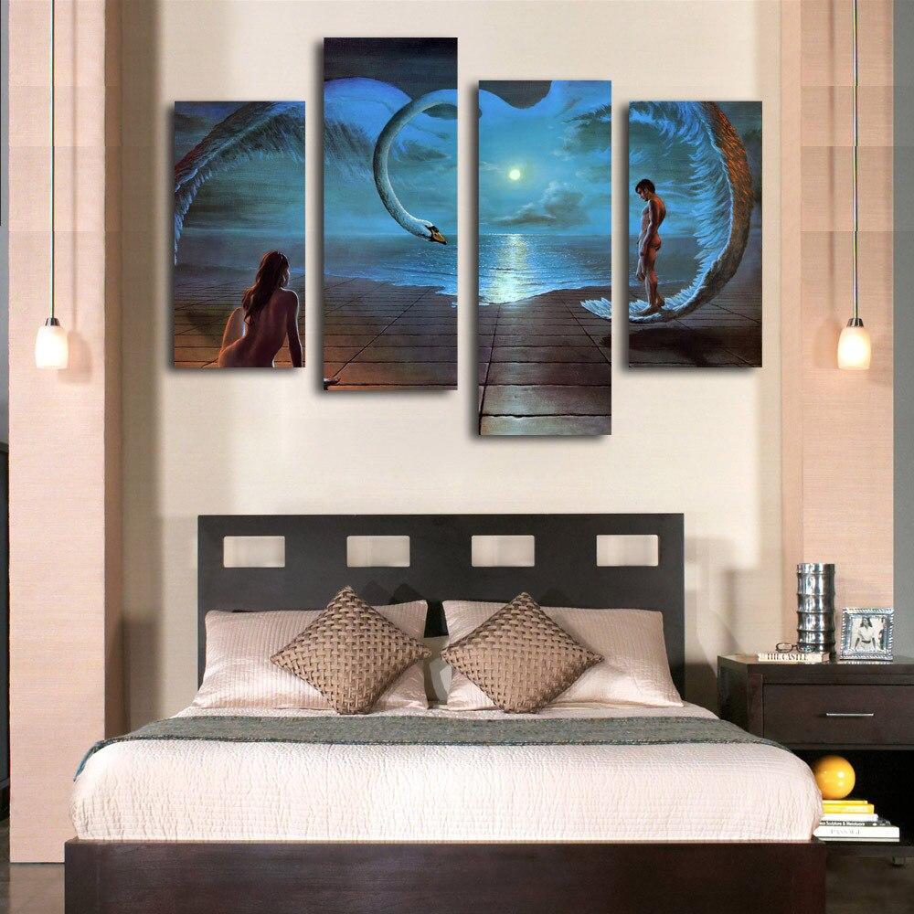 Modern Art Bedroom Online Buy Wholesale Bedroom Art Prints From China Bedroom Art